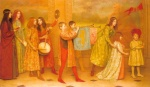 Thomas Cooper Gotch - paintings - The Pageant of Childhood