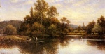 Alfred Glendening - Peintures - Le Ferry
