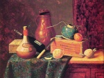William Michael Harnett - Bilder Gemälde - Still Life