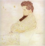 Egon Schiele  - Bilder Gemälde - Portrait of the Composer Löwenstein