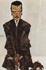 Egon Schiele  - Bilder Gemälde - Portrait of the Publisher Eduard Kosmack