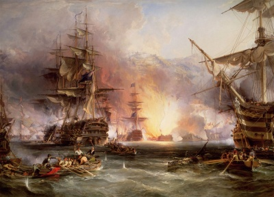 Naval battles -   - The Bombardment of Algiers