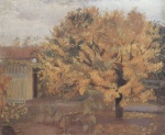 Anna Ancher - Bilder Gemälde - Birnbaum in Anchers Vorgarten