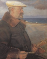 Anna Ancher  - Bilder Gemälde - Michael Ancher