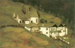 Franz von Defregger - paintings - Dreikirchen