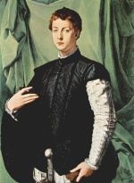 Angelo Bronzino - paintings - Portrait des Lodovico Capponi
