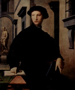 Angelo Bronzino - paintings - Portrait des Ugolino Martelli