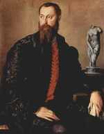 Angelo Bronzino - paintings - Portrait eines Edelmannes
