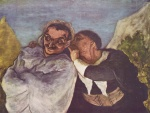Honoré Daumier - paintings - Crispin und Scapin