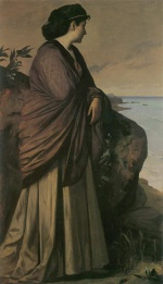 Anselm Feuerbach - paintings - Am Meer