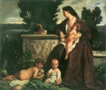 Anselm Feuerbach - paintings - Familienbild