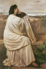 Anselm Feuerbach - paintings - Iphigenie