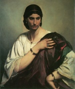 Anselm Feuerbach - paintings - Lucrezia Borgia