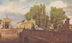 Eduard Gaertner - paintings - Die Koenigsbruecke in Berlin