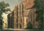 Eduard Gaertner - paintings - Fronleichnamskapelle der Katharinenkirche in Brandenburg