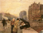 Childe Hassam - paintings - Das Kai St. Michel