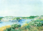 Childe Hassam - paintings - Der kleine Teich