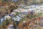 Childe Hassam - paintings - Der Wassergarten