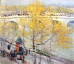 Childe Hassam  - Bilder Gemälde - Pont Royal, Paris