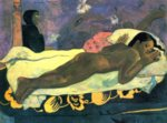 Paul Gauguin - paintings - The Spirit of the Dead Keep Watch