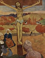 Paul Gauguin - paintings - The Yellow Christ