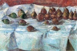 Childe Hassam  - Bilder Gemälde - Winter Sickle Pears (Birnen)