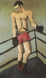 Helmut Kolle - paintings - Der grosse Boxer