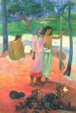 Paul Gauguin - Peintures - L'Appel