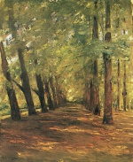 Max Liebermann - paintings - Allee in Overveen