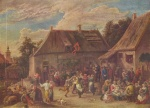 David Teniers - paintings - Bauernkirmes