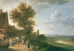 David Teniers - paintings - Bauerntanz