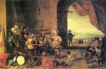 David Teniers - paintings - Corps de garde