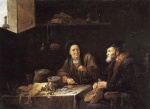 David Teniers - paintings - Der habgierige Mann
