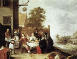 David Teniers - paintings - Der verlorene Sohn