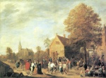 David Teniers - paintings - Dorffest