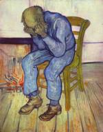Vincent Willem van Gogh - paintings - The Old Man