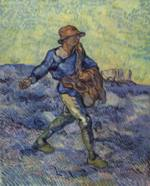 Vincent Willem van Gogh - paintings - The Sower