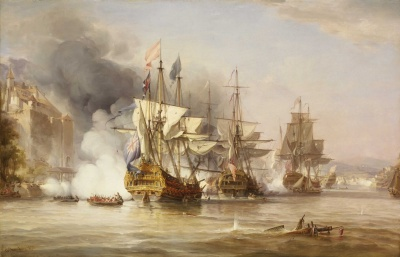Naval battles -   - Capture of Puerto Bello