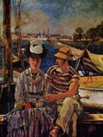 Edouard Manet - paintings - Argenteuil