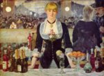 Edouard Manet - paintings - A Bar at the Folies Bergere
