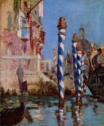 Edouard Manet - paintings - The Grand Canal, Venice