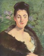 Edouard Manet - paintings - Dame im Pelz
