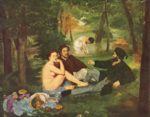 Edouard Manet - paintings - Dejeuner Sur L Herbe