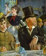 Edouard Manet - paintings - Bock Drinkers