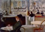 Edouard Manet - paintings - Interior of a Cafe