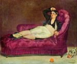 Edouard Manet - paintings - Junge Frau in spanischer Tracht