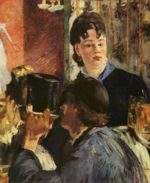 Edouard Manet - paintings - The Waitress