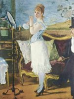 Edouard Manet - paintings - Nana