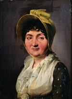 Louis Leopold Boilly  - Bilder Gemälde - Portrait of an Old Woman
