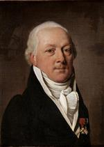 Louis Leopold Boilly  - Bilder Gemälde - Portrait of Baron of Viomenil
